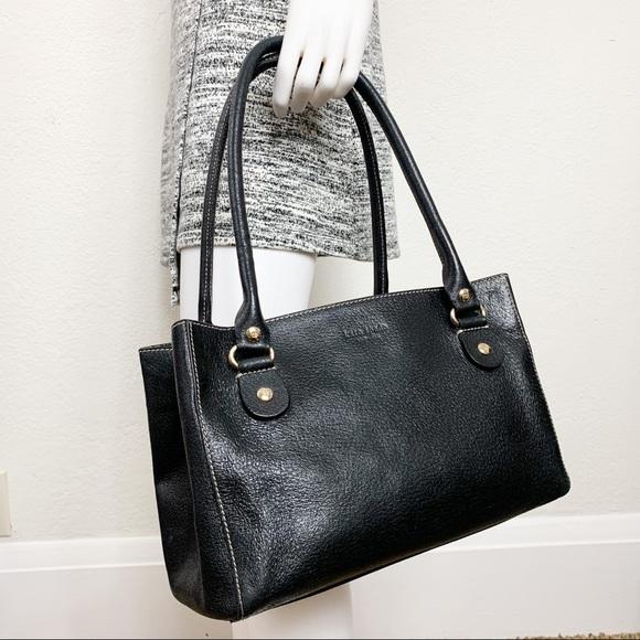 kate spade Handbags - Kate Spade Vintage Pebbled Leather Tote Bag